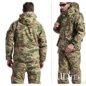 G8 two-piece set tactical clothes waterproof windproof camo coat UD6006